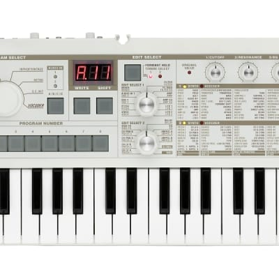 Korg Microkorg 37-mini Key 4-voice Synthesizer & Vocoder with Built-in 2+1 speaker system