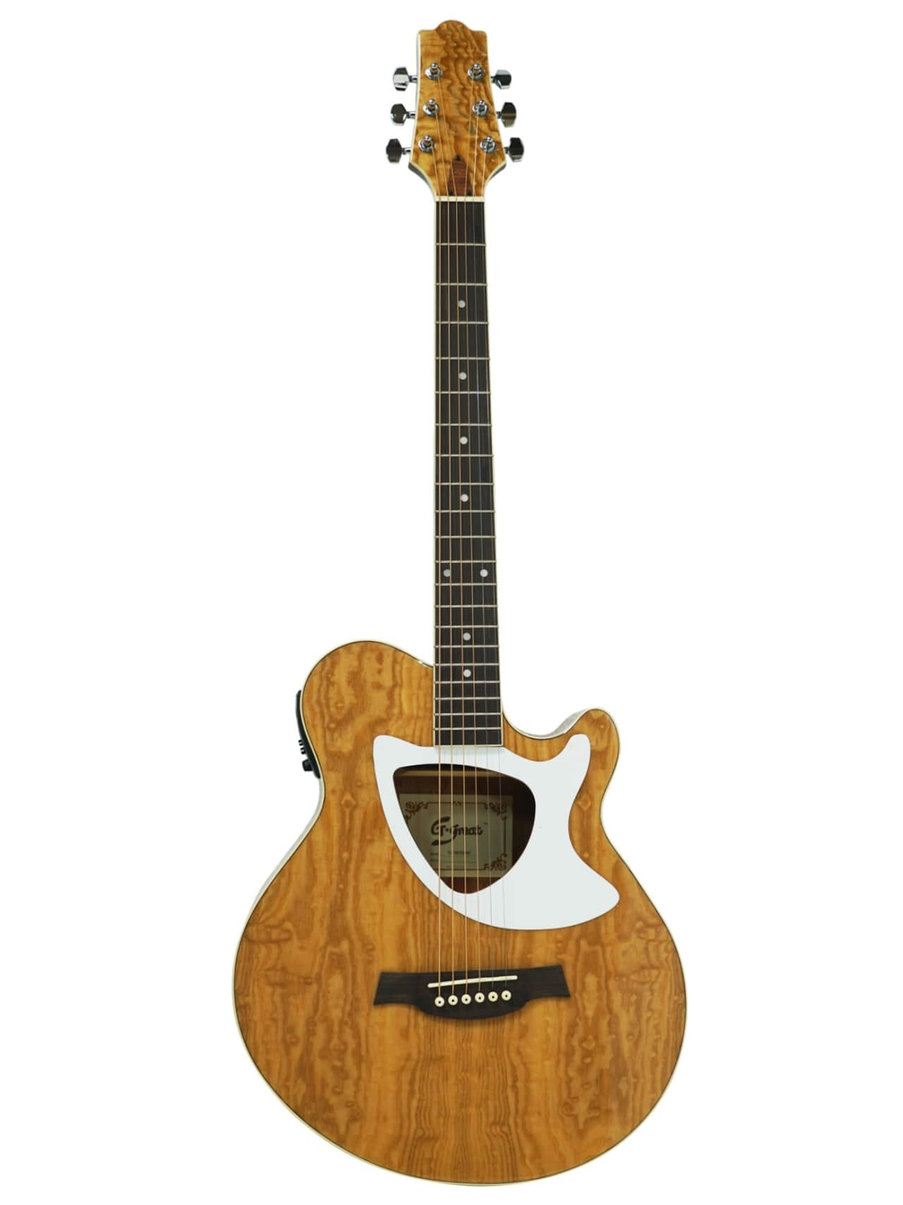 39 cutaway electric acoustic guitar built in tuner reverb. Black Bedroom Furniture Sets. Home Design Ideas