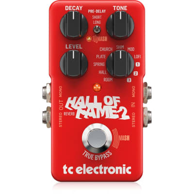 TC Electronic Hall Of Fame 2 Reverb effects pedal for sale
