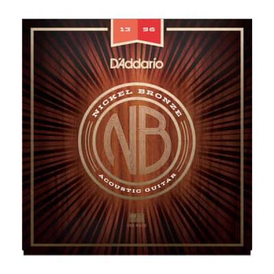 NEW D'Addario Nickel Bronze Acoustic Strings - Medium - .013-.056