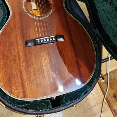 Schecter GLP-1 2012 Gloss Walnut Grant Lee Phillips Acoustic Electric Guitar for sale