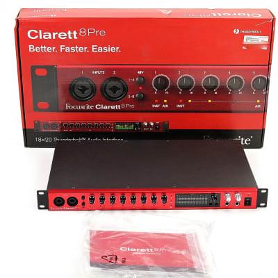Focusrite Clarett 8Pre