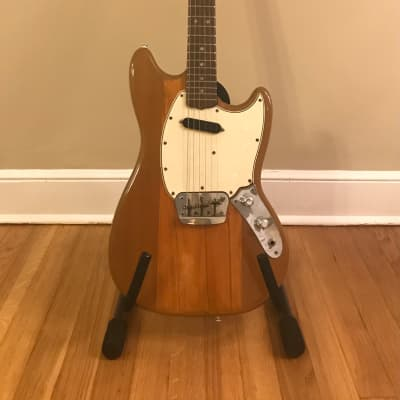 Fender Musicmaster II 1965-1967 Natural Finish Free Shipping for sale