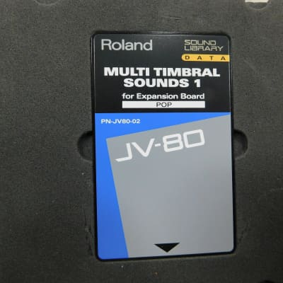 Roland PN-JV80-02 ROM card for JV-80, JV-90, JV-880, JV-1000, JV-1080, JV-2080 with expansion POP.