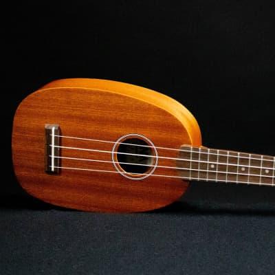 """Ohana PK-10 Mahogany Pineapple Soprano Ukulele """"Pina"""" - Dani Joy Music"""