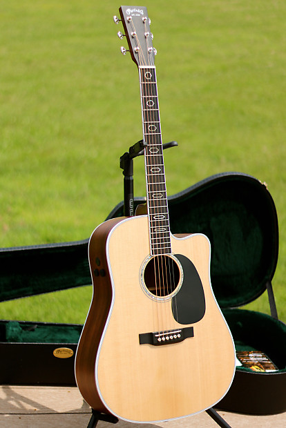 2014 martin dc aura gt dreadnought acoustic electric guitar reverb. Black Bedroom Furniture Sets. Home Design Ideas