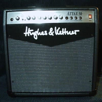 "Hughes & Kettner ATTAX 50 2-Channel 40-Watt 1x12"" Solid State Guitar Combo"
