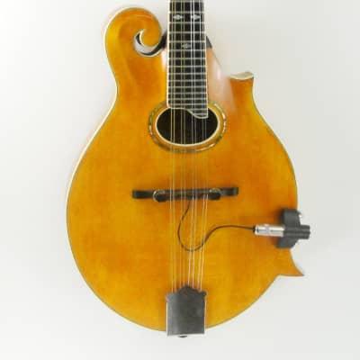 Bluett F4 Mandolin with Pickup 1999 Honey Blonde/Maple for sale