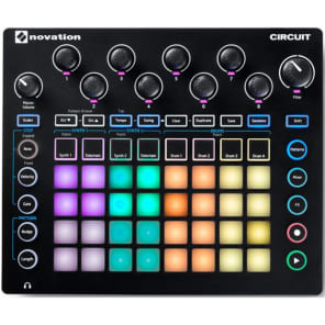 Novation Circuit GrooveBox Stand Alone, Synth e Drum Machine