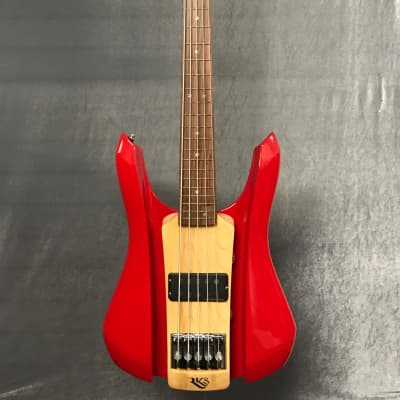 RKS Rosso Corsa 5 String Bass for sale