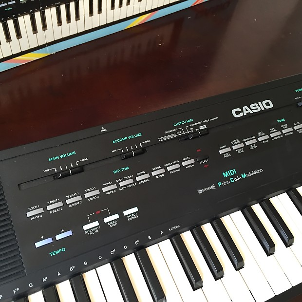 vintage casio mt 240 keyboard midi synthesizer circuit reverb. Black Bedroom Furniture Sets. Home Design Ideas