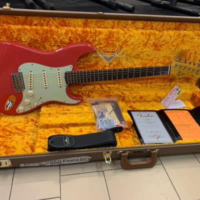 Fender Stratocaster Custom Shop 1960 '60 30th Anniversary Relic  Limited Edition 2017 Fiesta Red for sale