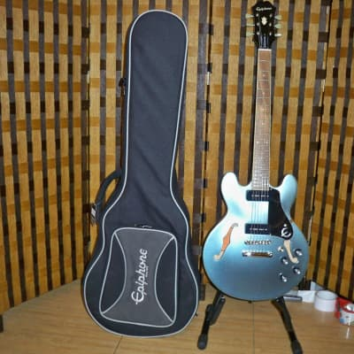 Epiphone 2020 ES-339 P-90 Electric Guitar Pelham Blue with Epilite Case Package for sale