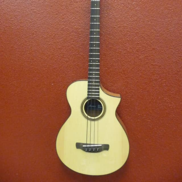 Ibanez AEWB32NT, 4 String Acoustic Bass, Free Shipping to Lower USA image