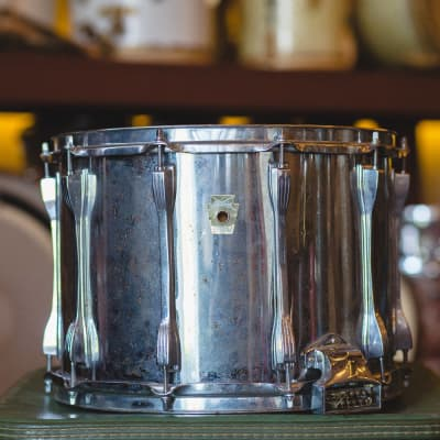 Ludwig 1980's Monroe Era Marching Snare in Chrome Over Wood - 10x14