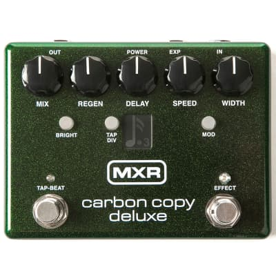 Brand New MXR Carbon Copy Deluxe Analog Delay Pedal