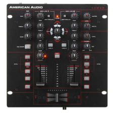 American Audio 10MXR 2-Channel MIDILOG DJ Mixer Regular