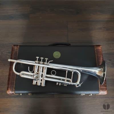 70's Bach Stradivarius 43 Corporation case mouthpiece | Gamonbrass trumpet