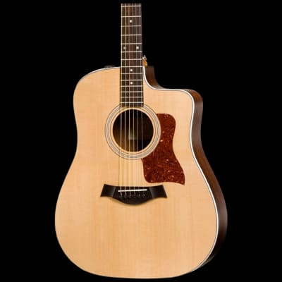 Taylor 210ce Dreadnought Acoustic Electric Cutaway with Deluxe Hard Bag