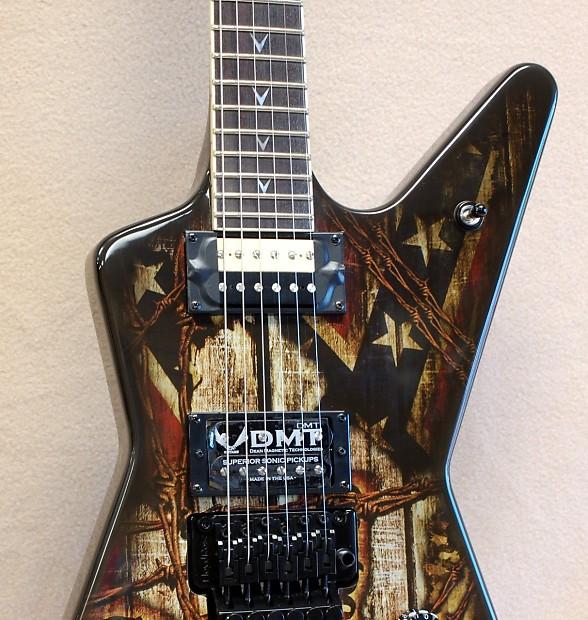 Dean Dimebag Wanted Ml Electric Guitar Reverb