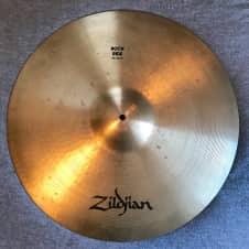 """Zildjian 21"""" Rock Ride (late 1980's vintage) 1980's"""