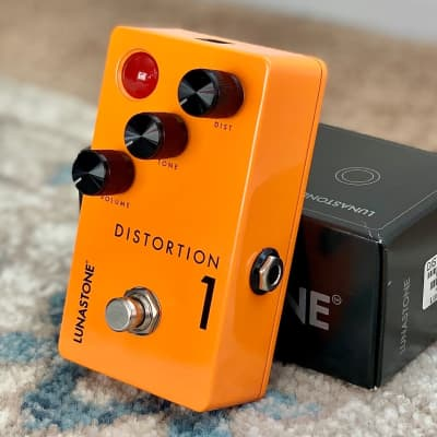 LunaStone Distortion 1 Medium to High Gain pedal - cranked Marshall stack-in-a-box! amazing texture for sale