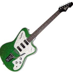 Italia Modena Classic Electric Guitar - Green for sale