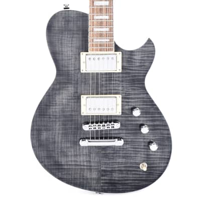 Reverend Roundhouse Trans Black Flame Maple
