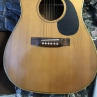 CB Alyn Dreadnaught 1974 Brazilian Rosewood Sides and Back, Spruce Top.  Luthier Built for sale