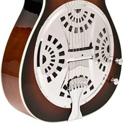 Washburn R15RCE Mahogany Acoustic Electric Resonator Guitar for sale