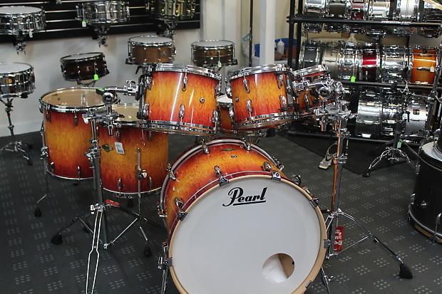 Pearl Masters Custom Vintage Sunburst 7 Piece Drum Kit
