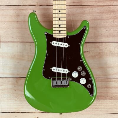 Fender Player Lead II Electric Guitar, Maple Fingerboard, Neon Green
