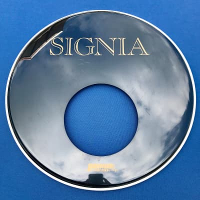 "Premier Signia Bassdrum Front Head 22"" w/Logo 90s"