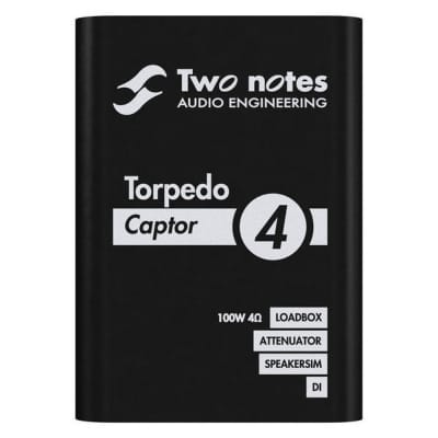 Two Notes Audio Engineering Torpedo Captor Reactive Loadbox DI and Attenuator, 4-Ohm image