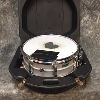 Ludwig Acrolite Snare Kit (drum, stand, case) 80's