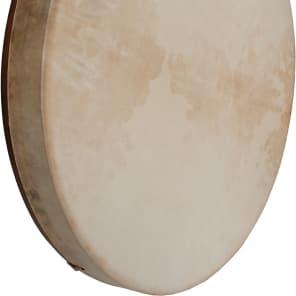 """Dobani FD18RC Pretuned Goatskin Head Red Cedar Frame Drum - 18x2"""""""