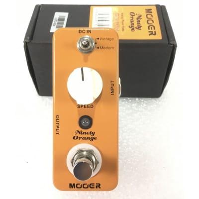 Mooer Ninety Orange Analog Phaser for sale