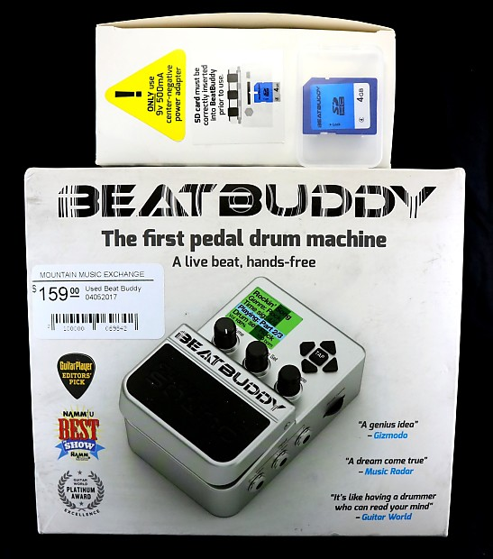used singular sound beat buddy drum machine pedal 842 reverb. Black Bedroom Furniture Sets. Home Design Ideas