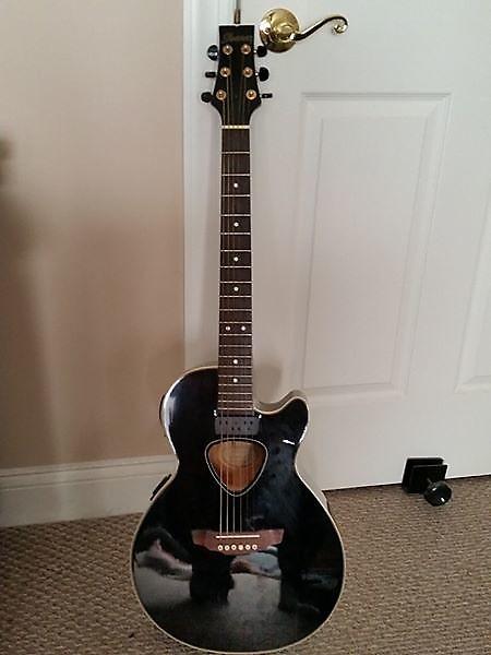 ibanez masa series sx90bk acoustic electric guitar w road reverb. Black Bedroom Furniture Sets. Home Design Ideas