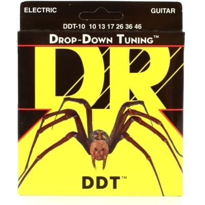 DR Strings Drop Down Tuning DDT-10 Electric Guitar Strings
