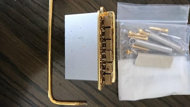 Kahler/Dimarzio/Charvel Brass Tremolo Bridge