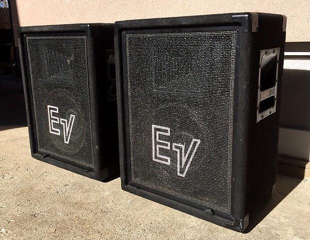 electro voice ev s 1202 12 2 way speakers evm 12s reverb. Black Bedroom Furniture Sets. Home Design Ideas
