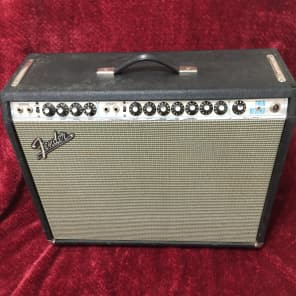 Fender Twin Reverb Siverface 1972 Black / Silver (Layaway Available)
