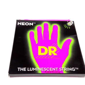 DR NPE-11 Hi-Def Coated Neon Guitar Strings - Heavy (11-50)