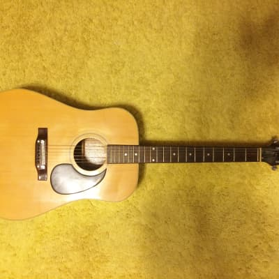 Vintage MIJ Pan F4330 Acoustic Guitar in good condition for sale
