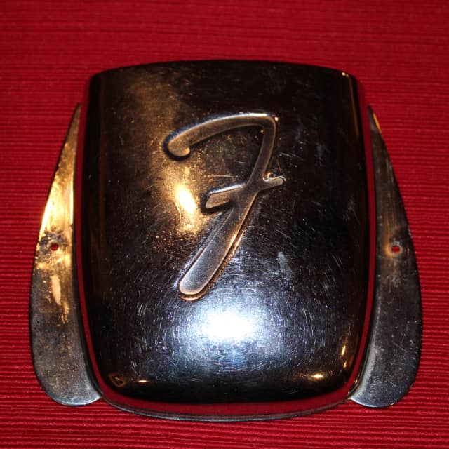 Fender 1962 To 1965 Vintage Jazz Bass Ashtray Bridge Treble Pickup Cover Excellent Condition image