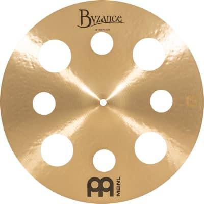 """Meinl 16"""" Byzance Traditional Trash Crash Cymbal"""