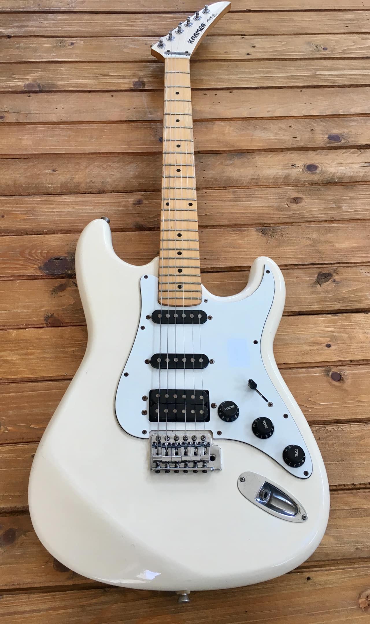 kramer zx30h guitar 1987 cream maple neck all original reverb. Black Bedroom Furniture Sets. Home Design Ideas