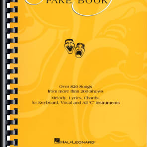 Hal Leonard The Ultimate Broadway Fake Book - 5th Edition