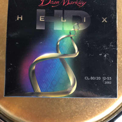 6 Packs Of Unopened Dean Markley HD Helix Acoustic Guitar Strings CL 80/20 12-53 2082 for sale